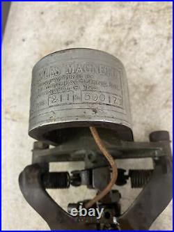 Rare Wizard Hercules Galloway Antique Hit And Miss Gas Engine Magneto Wow