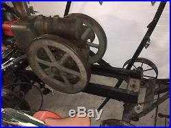 Rare evinrude stationary engine survivor original condition w brochure hit miss