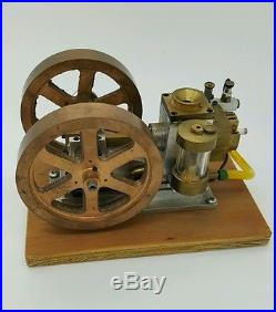 Ready to Run Model Hit And Miss Gas Engine Aluminum Brass Machined From Castings