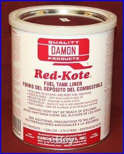 Red Kote Gallon Coat Gas Oil Diesel Fuel Tank Sealer Liner Patch Hit Miss Engine