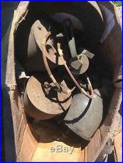 Reid Scrip Antique Vintage Farm Oil Field 20Hp Reid Hit & Miss Stationary Engine