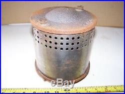 Reproduction 4-5hp FLUTED HOPPER AERMOTOR Muffler Hit Miss Gas Engine Cast Iron