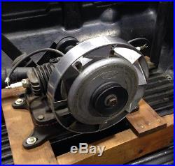Running 1938 Maytag Model 72 Gas Engine Motor Hit & Miss Twin Cylinder Antique