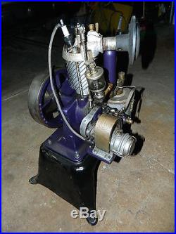 STANDARD Slant Fin Cream Separator Engine and Separator, Hit Miss Antique Oiler
