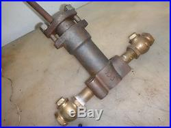 S. M. JONES ACME WATER PUMP OIL FIELD ENGINE Old Hit and Miss Gas Engine