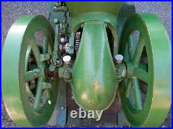 Sandwich Antique Hit And Miss Engine- 2.5 HP Runs Great