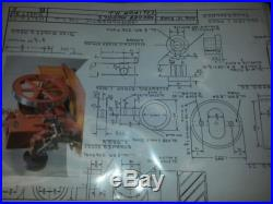 Scale Model Domestic Casting Kit Hit Miss Gas Engine