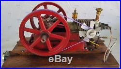 Scale Model, United Air Cooled, Hit and Miss Gas Engine, Runs on Propane