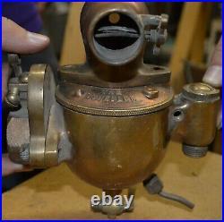 Schebler brass acorn carburetor Auto Hit & Miss Stationary Engine Tractor #8