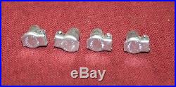 Set of 4 1/4 Gits Oilers Gas Engine Motor Hit Miss Oil Grease Magneto