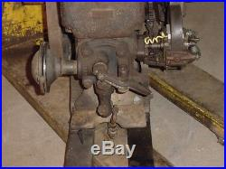 Small 1 1/2hp Alamo Hit Miss Gas Engine Barn Fresh Original