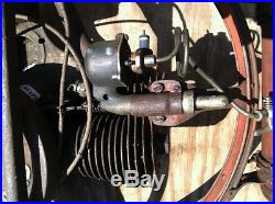 Smith Motor Wheel, old bicycle, antique bicycle, hit and miss, old engine