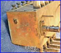 Solid Brass McCord Model 1905 Antique Engine Lubricator Oiler Hit Miss Steam WOW