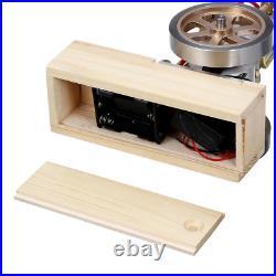 Stirling Engine Vertical Hit & Miss Gas Cylinder Motor STEM Toy Science Model