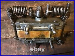 Stover Model Y 2 HP Hit & Miss Engine Ignitor Webster FM Magneto Has Spark