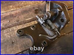 Stover Model Y 2 HP Hit & Miss Engine Webster Magneto Ignitor bracket 303M20