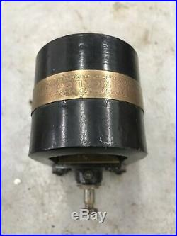 Sumpter 30 Brass One Cylinder Antique Hit And Miss Gas Engine Magneto Hot