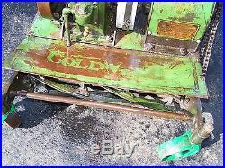 Super Original CALDWELL CUB Lawnmower Hit Miss Gas Engine Bear Steam Tractor WOW