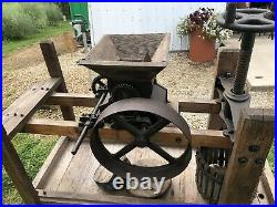 Turn Of The Century Hit And Miss / Steam Engine Cider Press