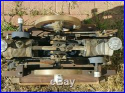 Twin cylinder engine hit and miss model or kit