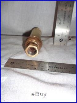 Unknown small whistle brass steam hit miss engine