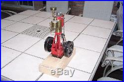 Verticle Hit and Miss Gas Model Engine, Must see