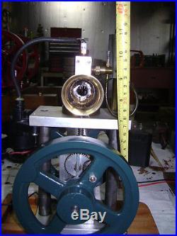 Verticle running model Hit Miss engine