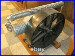Very Nice Antique Hit & Miss Engine Era Line Shaft Air Compressor USAco. Rare