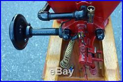 Very Rare Antique 1915 # 5388 1/2 HP New Holland Hit & Miss Gas Engine On Cart