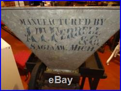 Very Rare Bean Sorter, Hit Miss Engine, Farm Collectible (Large Price Drop)
