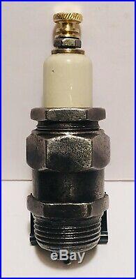 Very Rare Vintage MOGUL REFLEX Spark Plug Tractor / Hit & Miss Engine Ohio