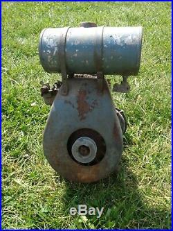 Vintage 1940's Clinton Engine Hit & Miss Model 722abr6 Good Compression Barn Fin