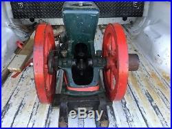 Vintage 1-1/2hp Fairbanks Morse Model Z Hit Miss Gas Engine Antique engine