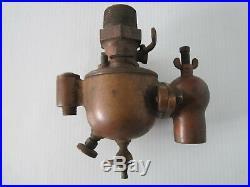 Vintage / Antique ACORN brass carburetor hit miss engine boat tractor Schebler