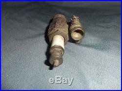 Vintage Antique ALL IN ONE PRIMING SPARK PLUG HIT AND MISS ENGINE RARE