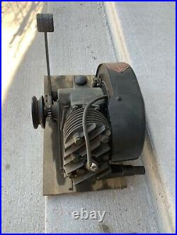 Vintage Hit And Miss Engine 4 Cycle Iron Horse Kick Start Engine