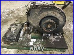 Vintage Johnson Motors IRON HORSE 4 Cylinder Hit Miss Engine X-410
