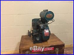 Vintage Lauson RSC-708 Hit Miss Stationary Engine Motor all Original