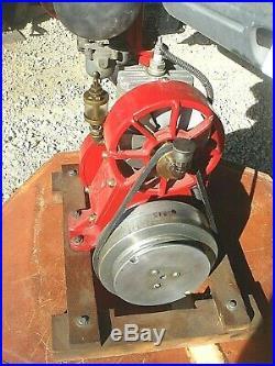 Vintage Rare Antique Ideal Model V Mower Engine Motor Hit & Miss