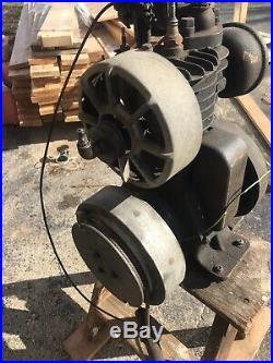 Vintage Rare Antique Ideal Model V Mower Engine Motor Hit & Miss Original Wow