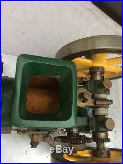 Vintage paul breisch model hit miss engine olds RUNS GOOD see video