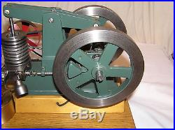 WALKING BEAM Hit and Miss Gas Engine Scale Model No Reserve