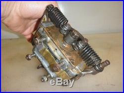 WEBSTER K LOW TENSION MAGNETO Hit & Miss Old Gas Engine Serial No. 698797 HOT