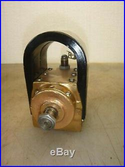 WIZARD Model 2S MAGNETO Serial No. 215756 Hit and Miss Gas Engine ALL BRASS BODY