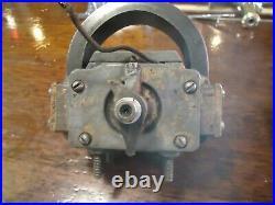 Webster Tri Polar Oscillator Magneto Hit & Miss Flywheel Gas Engine TYPE M-1