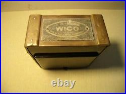 Wico EK magneto hit and miss engine ready to use hot spark Zinc covers