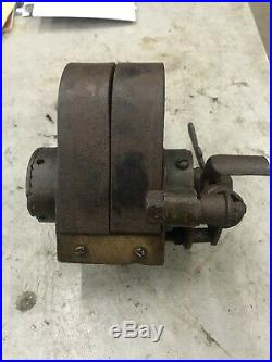 Wizard Brass Oscillating Antique Hit And Miss Gas Engine One Cylinder Magneto