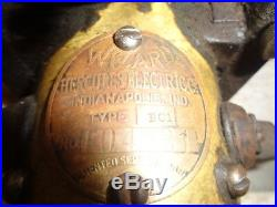 Wizard friction drive magneto or generator for Hit Miss Gas Engine Tractor