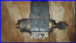 Wizard gas engine generator auto sparker dyno type B1 hit & miss