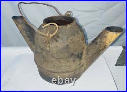 YELLOW DOG Oil Lantern Light Cast Iron Hit Miss Gas Engine Oil Field Oilfield